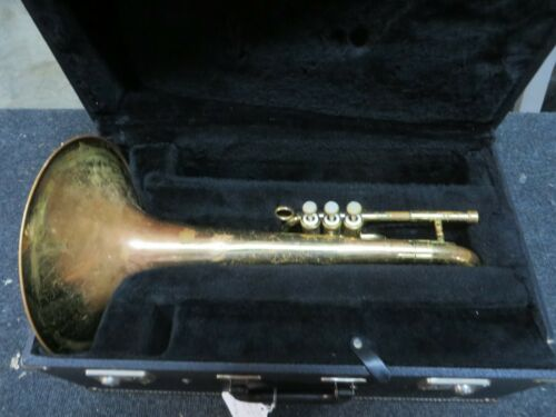 Dynasty F Mellophone w Case in Lacquer, Just Serviced, #JMP60