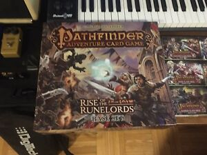 Pathfinder Adventure card game Rise or the Runlord *SET COMPLET