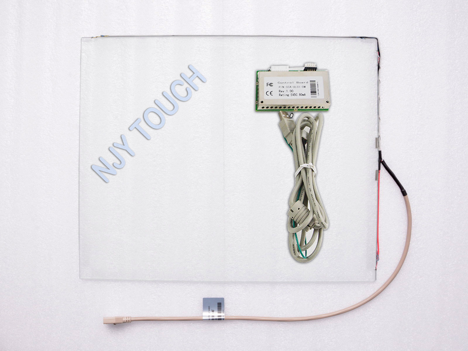 17 inch Surface Acoustic Wave Touch Panel Screen 4mm+USB Controller Kit 4:3