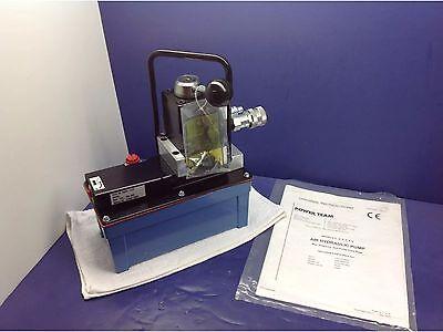 Spx Power Team Pa6dm-huck Air Hydraulic Foot Pump W Parker Tc372 Tc371 Fit.