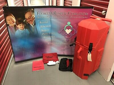 Nomadic Instand Trade Show Pop Up Display Table Top Booth Display - With Manuals