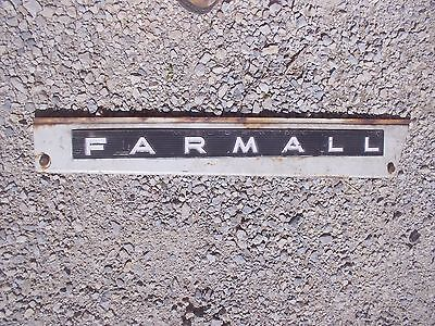 Farmall 806 Tractor Ih Ihc Front Right Hood Skirt White Panel Emblem Sp Bolts