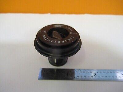 Carl Zeiss Jena Polarisator Optics Polarizer Microscope Part As Pictured A7-a-76