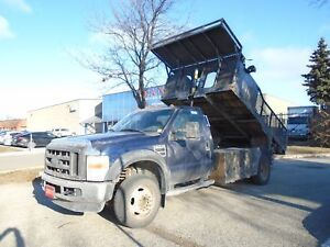 2010 Ford F-450 ONLY 45164km,12ft dump body,Triton power.