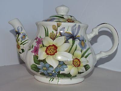 Vintage Sadler Estate Teapot Beautiful English Floral Tea Pot Made in England