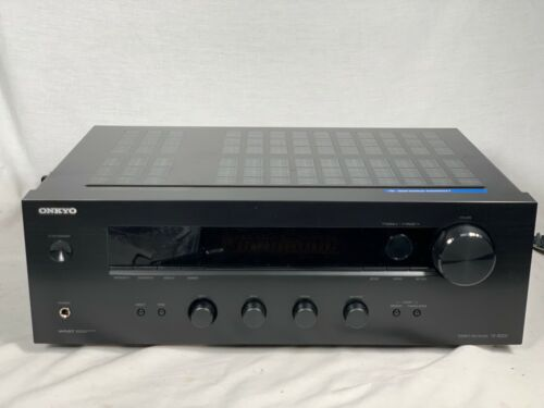 Onkyo TX-8020 Stereo Receiver -W/ Remote Bundle Tested/Works Great