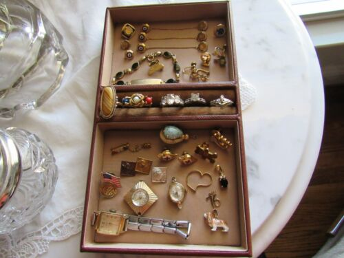 Vintage to Modern Junk Jewelry Assorted Lot