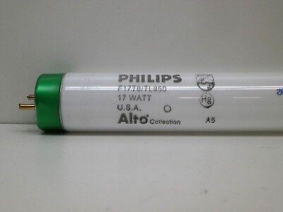 (2-Pack) Philips F17T8/TL850 ALTO Fluorescent Lamp Light Bulb 17W 5000K Daylight 17w T8 Fluorescent Bulb