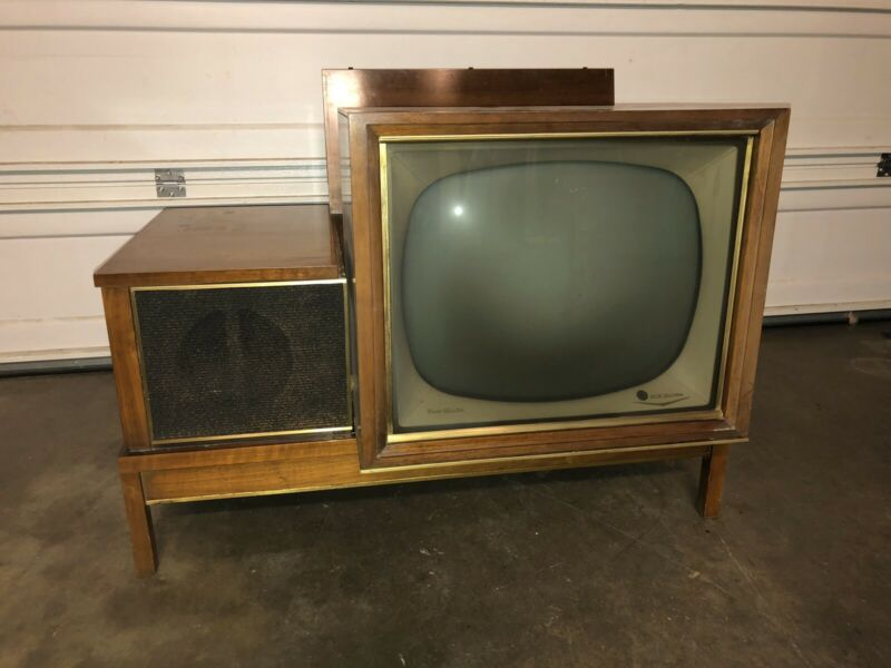 "1959 RCA ""Hideaway"" Television TV vintage classic mid century modern Tube"