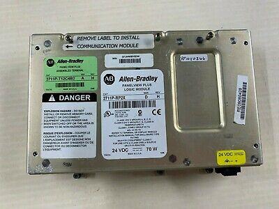 Allen Bradley Panelview Plus Logic Module 2711p-rp2x Ser A Rev H 128mb Ramflash