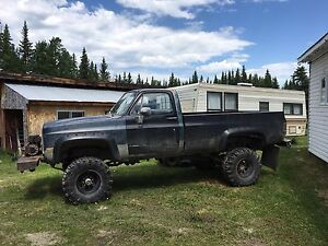 Lifted 86' gmc