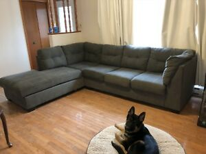 Grey 2 piece sectional