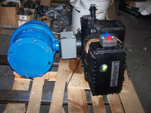 """NEW FLOWSERVE LIMITORQUE 8"""" BALL VALVE WITH LY-3001 ACTUATOR 115 VAC"""