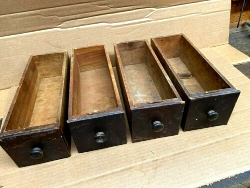 Four Vintage Singer Treadle Sewing Machine Drawers
