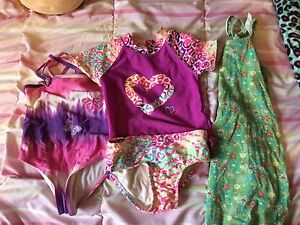Size 3 bathing suits and dress