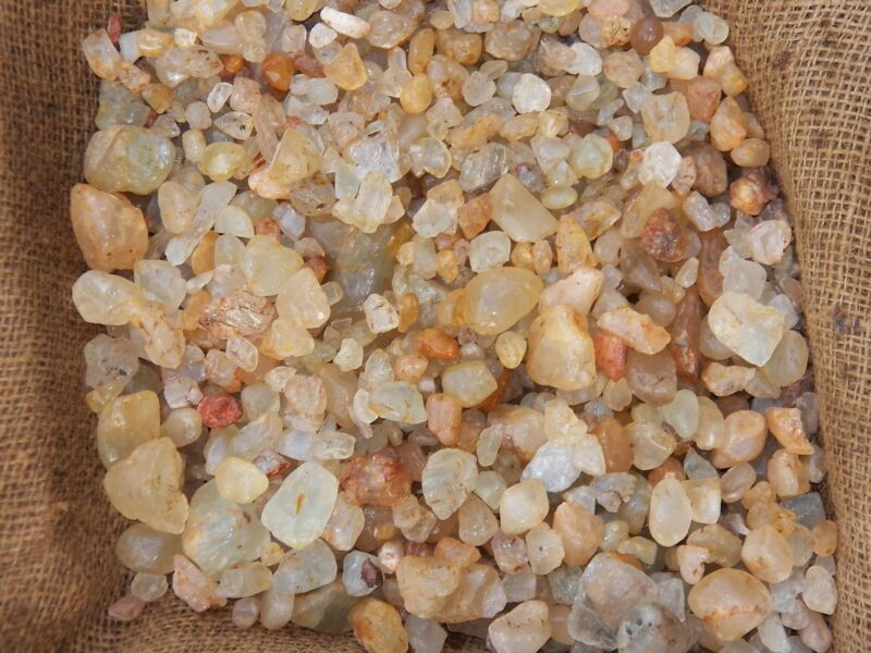 1000 Carat Lots of Unsearched Topaz Rough - Plus a FREE Faceted Gemstone