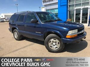 2002 Chevrolet Blazer LS 4x4  runs drives  OFF ROAD USE ONLY