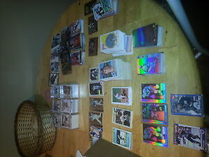 Hockey, Baseball, Foot ball cards Holo, fancy, old.new mint cond