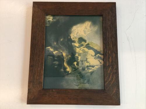 Maxfield Parrish Aladdin Vintage Print Framed - $125.00
