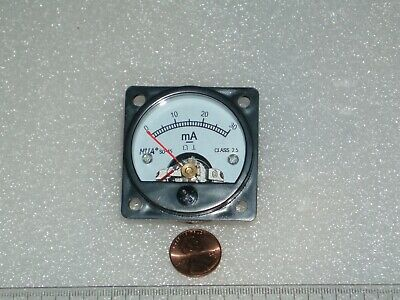Analog Panel Meter Dc 0-30 Ma Ampermeter So-45 Dc Ammeter 0-30 Ma