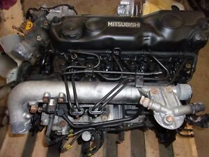 MITSUBISHI FUSO  ENGINE ASSEMBLY 4D34  3.9L 4 CYLINDER DIESEL FREE SHIPPING!!