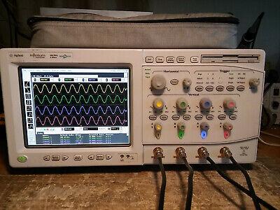 Agilent 54832b 4 Channel 1ghz Dso Oscilloscope Option 080 Ssd