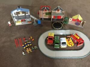 Assorted Fireman Sam Toys