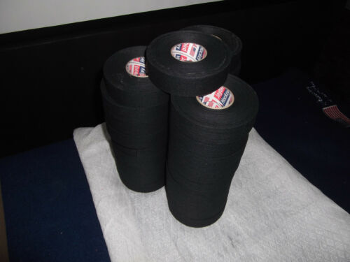 """BLACK MEDICAL TAPE  36 rolls  1.5""""x10yds.   * FIRST QUALITY *"""
