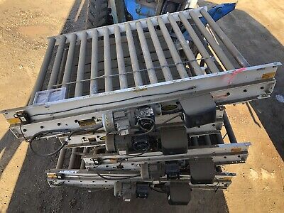 Motovario 52w X 72l 6 Live Powered Pallet Case Roller Conveyor Qty Available