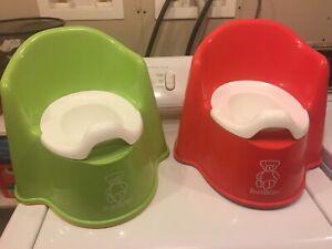 3 Baby Bjorn  potty chairs