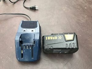 Master craft 18v battery and charger