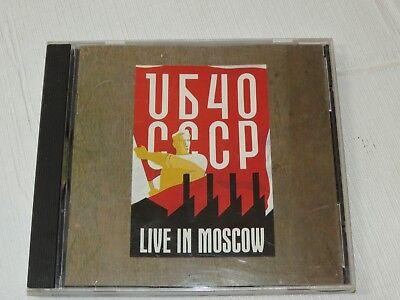 Live in Moscow by UB40 CD Jun-1987 Virgin Records Keep on Moving Watchdogs comprar usado  Enviando para Brazil