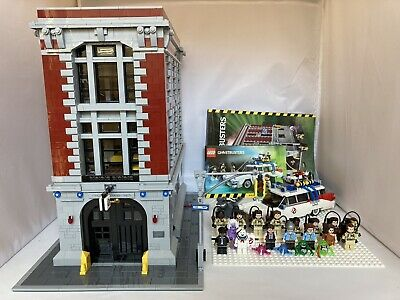 LEGO Complete Ghostbusters Lot 75827 Firehouse Headquarters 21108 Ecto 1 Bonus!
