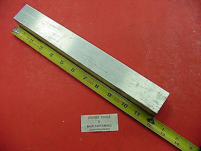 """D 1-1//2/"""" X 4/"""" ALUMINUM 6061 FLAT BAR 7-3//8/"""" Long Solid T6511 1.5/"""" New Mill Stock"""