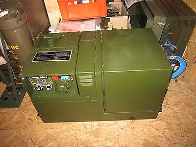 Bundeswehr Original Stromaggregat Kirsch/Lindberg 1,9 KVA 32 V 350 Std. Top!!