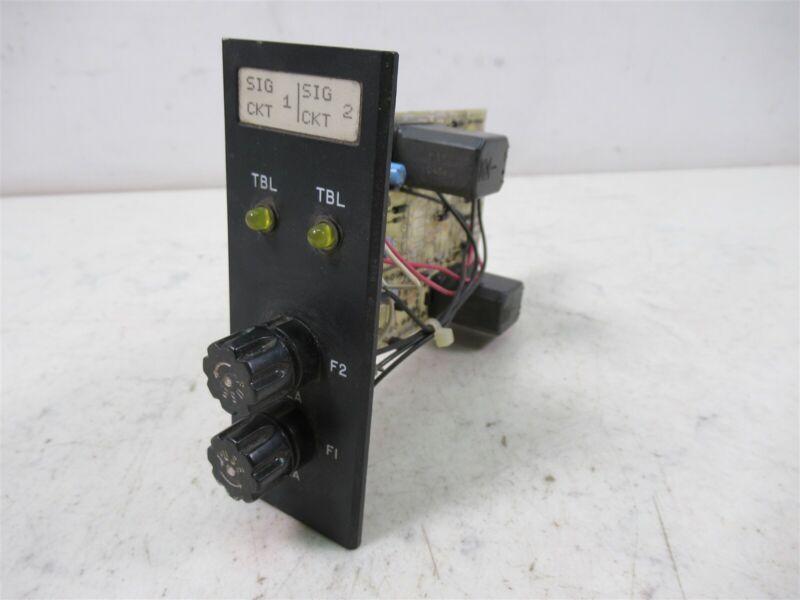 Tyco 556-638F Printed Circuit Board Plug In Module Vintage
