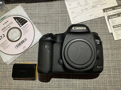 Canon EOS 5D Mark III with BRAND NEW FACTORY SHUTTER - IN BOX - USA model