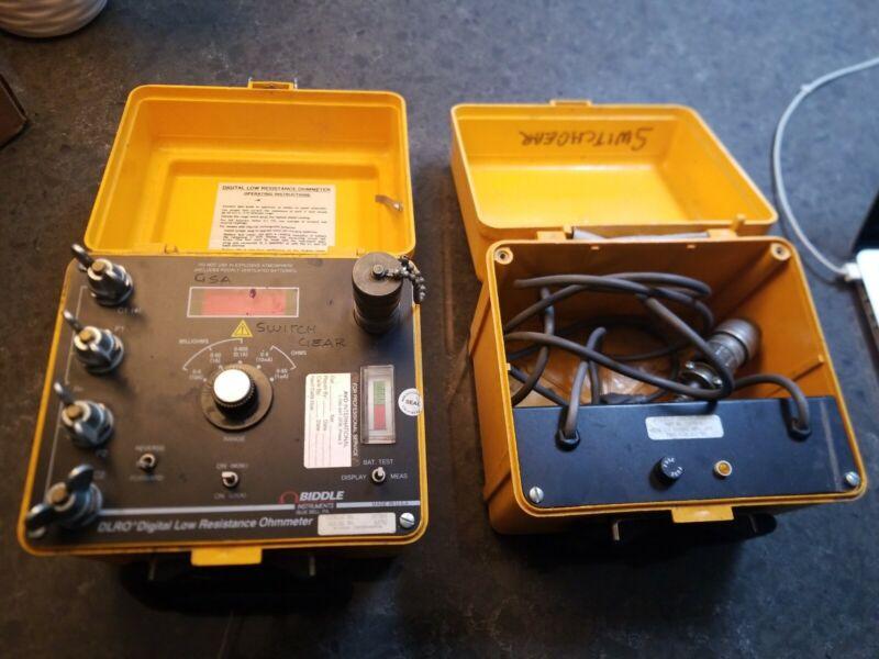 Biddle 247000  15572-1 DLRO Digital Low Resistance Ohmmeter