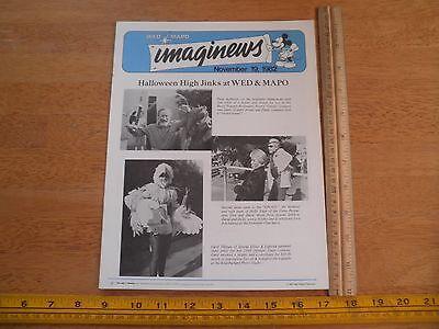 Disney Imaginews WED MAPO Employees mag 1982 Halloween Costume contest TEX](Halloween Costume Contest Disney)