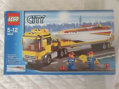 LEGO 4643 - Lego City - Transporter di motoscafi