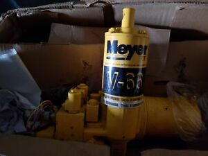 New meyers v66 plow power pak