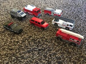 Matchbox- fire and police vehicles