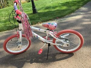 Girls bike size 18
