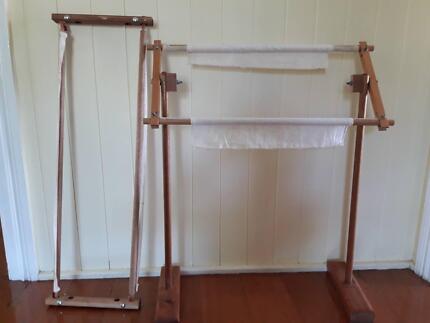 Cross stitch frames