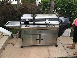 Adjustable BBQ - Turbo 6 Burner, Stainless Steel New Farm Brisbane North East Preview