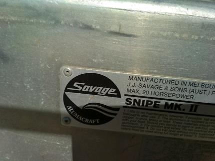 12ft aluminium savage