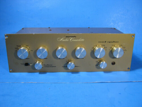 Marantz Model 1 Audio   Tube Preamplifier + Model 4 Power Supply