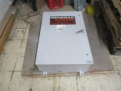 Generac Automatic Transfer Switch 1421200200 100a 600v 120208v System Used