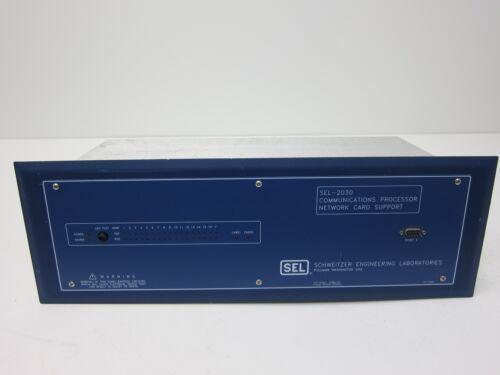 Schweitzer (SEL) Communications Processor - SEL-2030 - 203030X444XXXX
