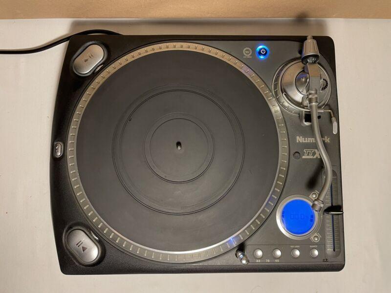 Numark TTX DJ Quartz Direct Drive Turntable Adjustable Torque W/ Light
